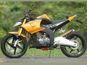 Honda tiger Robofighter Style