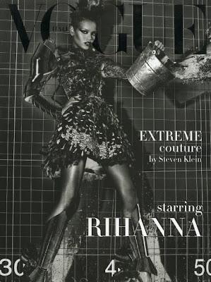 Rihanna in Vogue Italia