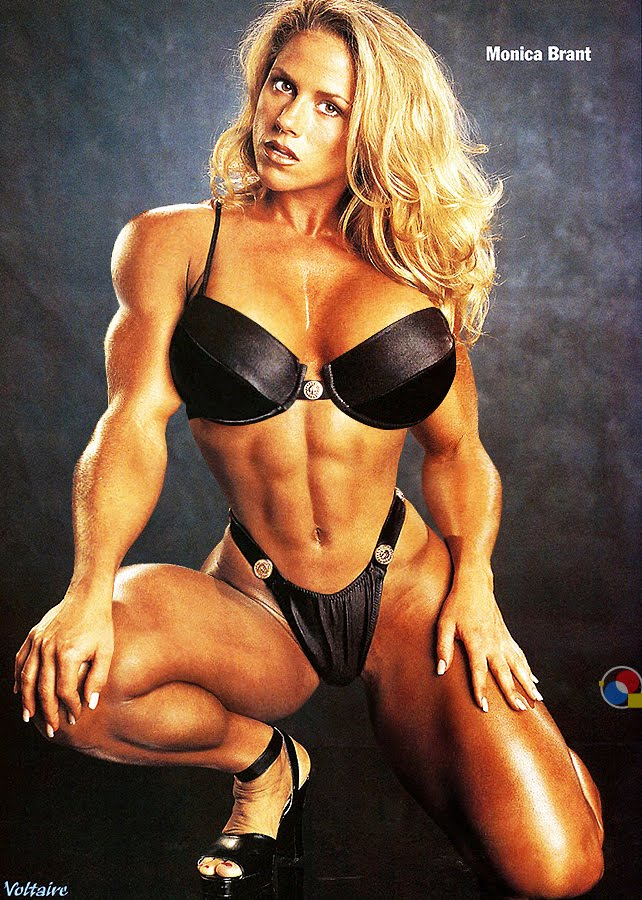 legendary fitness champion and cover model monica brant is still going