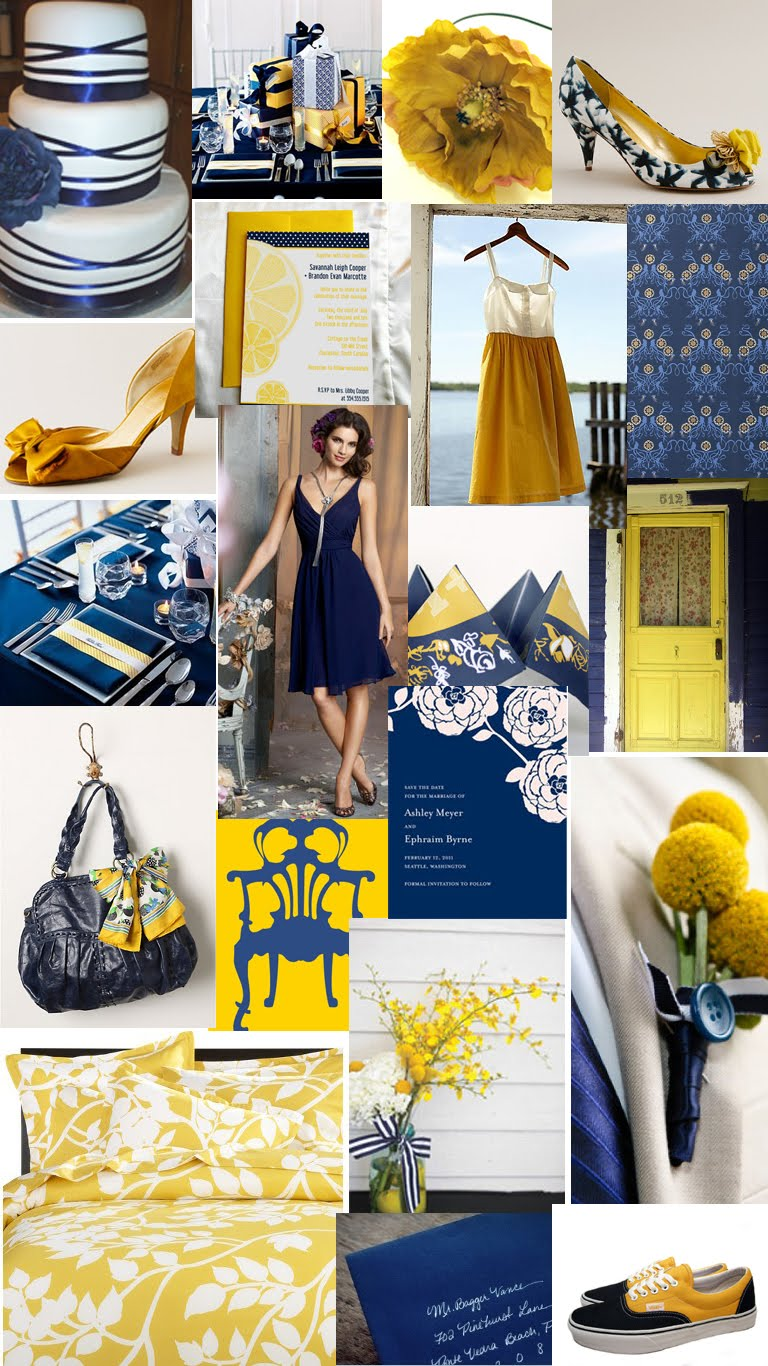 navy blue and gold wedding viewing gallery