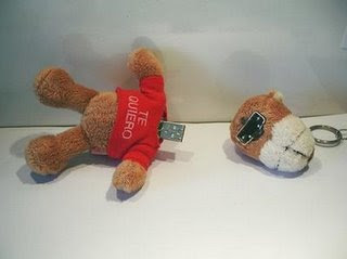 USB Flash pen drives - teddy