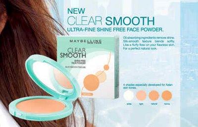 Cosmetic Fashion: Maybelline Face Powder