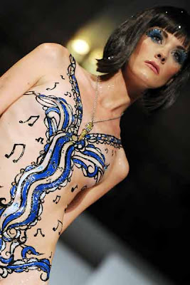Body Art fashion show Bullet 4 Peace
