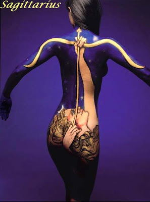 Zodiac Sign Body Paintings