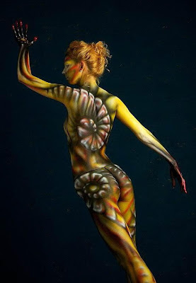 Colorful Body Paintings
