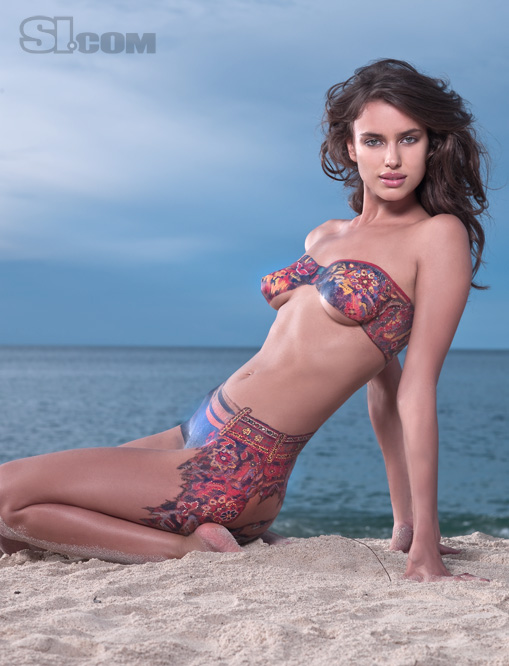 Impressive Irina Shayk Body Paint 509 x 666 · 100 kB · jpeg