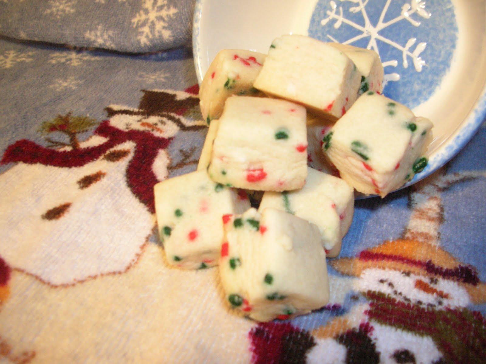 A Year Of Cookies Cookie Recipe 354 Elfin Shortbread Bites