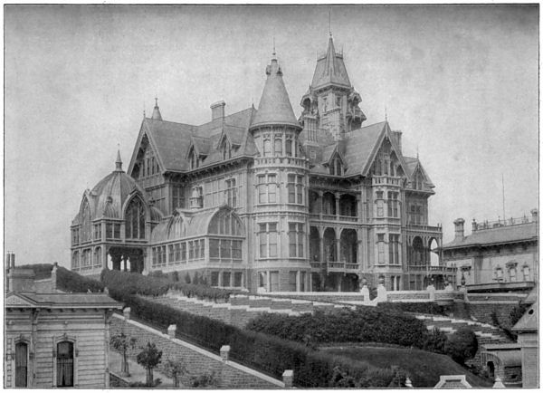 San francisco mike historical saturday mark hopkins mansion for San francisco victorian houses history