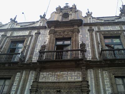 Epistolario seg n lvaro post visual yo en el dfectuso for Casa de los azulejos mexico df