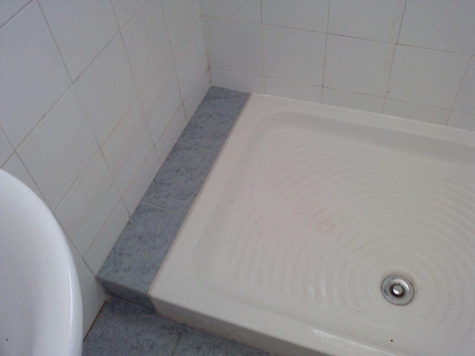 Fontaneria ro ma sustitucion de plato de ducha remate final - Sustitucion de banera por plato de ducha ...