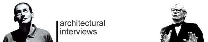 architectural interviews