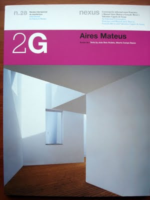 Architectural monographs aires mateus 2g no 28 for Architecture 2g