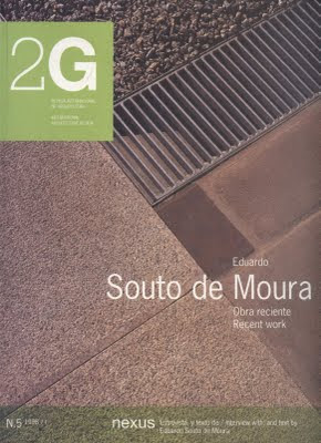 Architectural monographs eduardo souto de moura 2g no 5 for Architecture 2g