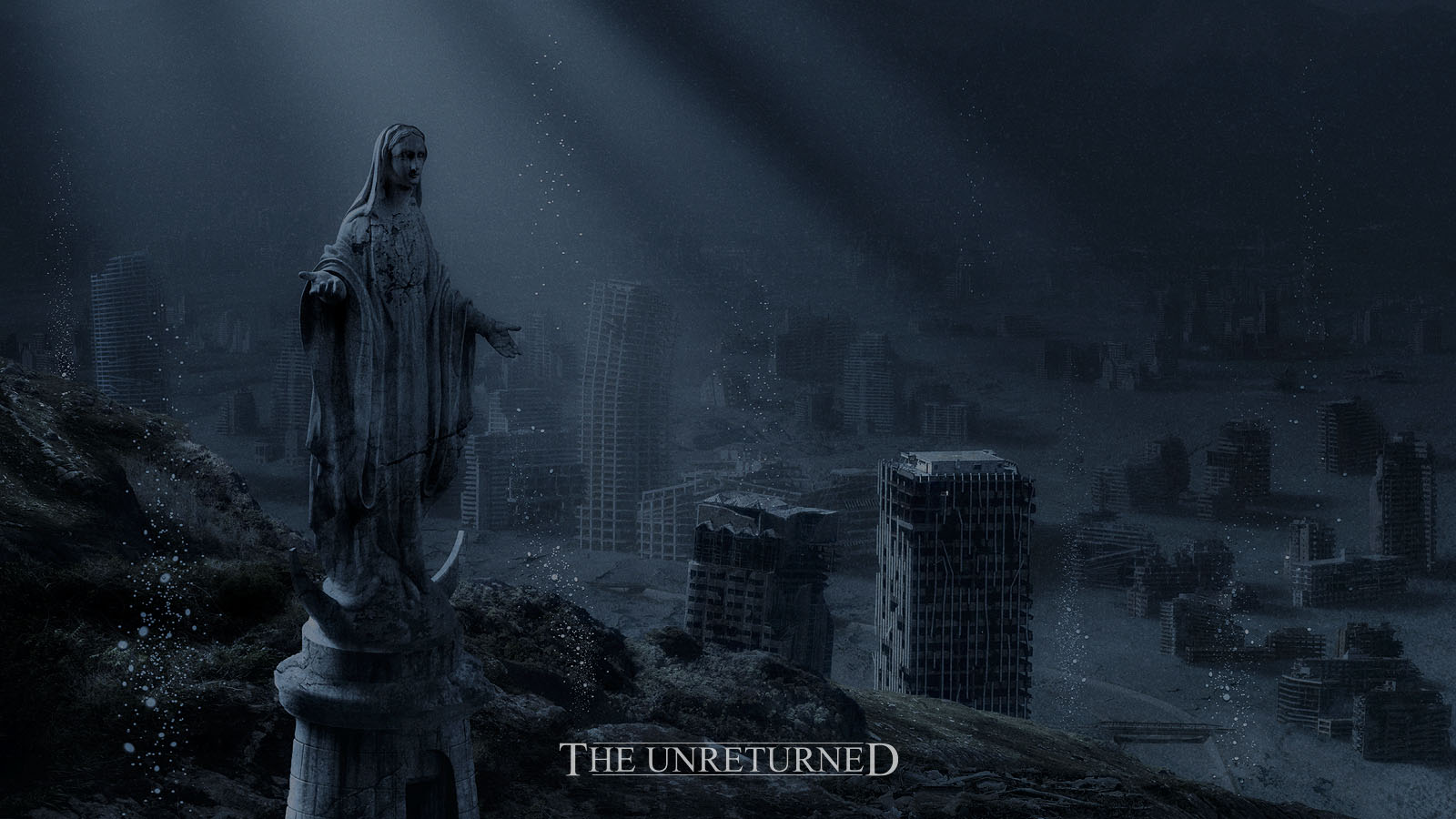 The art of claudio bergamin matte painting the unreturned for Space matte painting