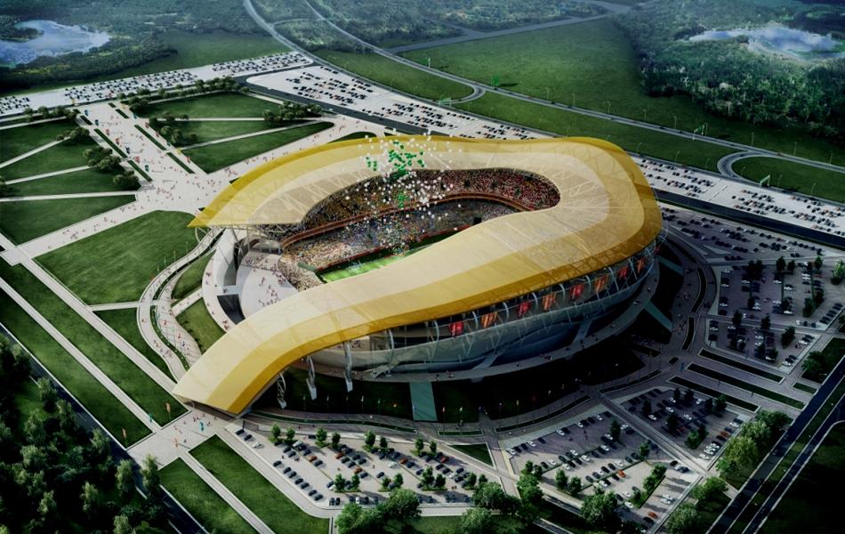 Строительство стадионов 2018