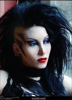 Goth Model RazorCandi