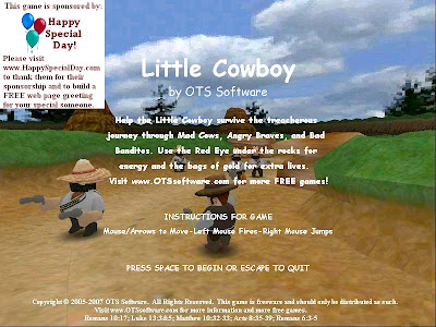 Little Cowboy PC Game