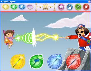 Game Dora Saves the Crystal Kingdom