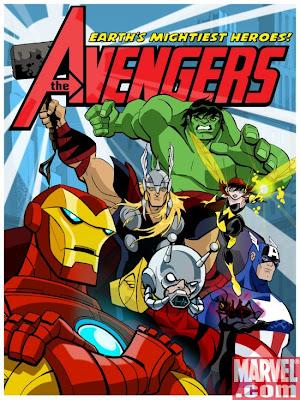 Serie Poster The Avengers: Earth's Mightiest Heroes 1ª Temporada HDTV RMVB Legendado-TELONA
