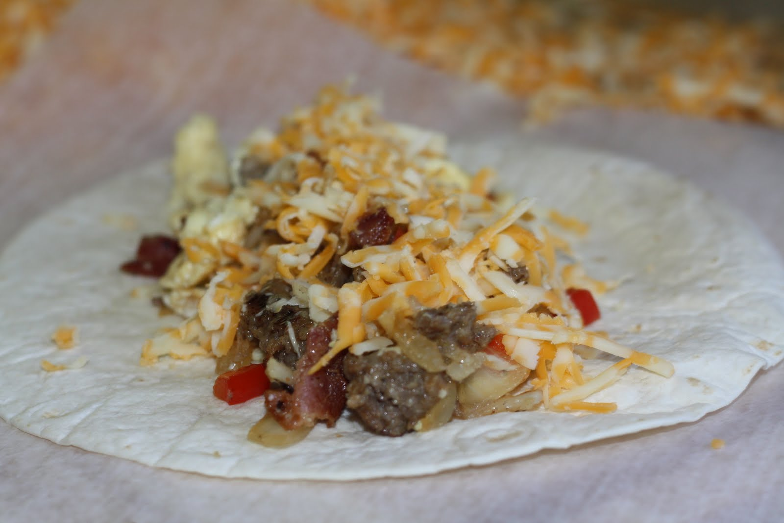 Life At Willow Cottage: A Bike Ride Picnic and Breakfast Burritos