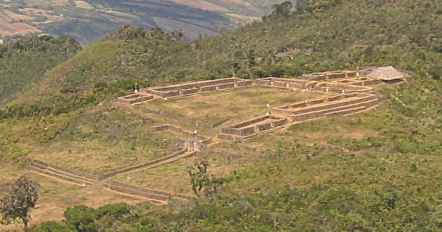 Area Monumental del Complejo Arqueológico de Aypate - Ayabaca