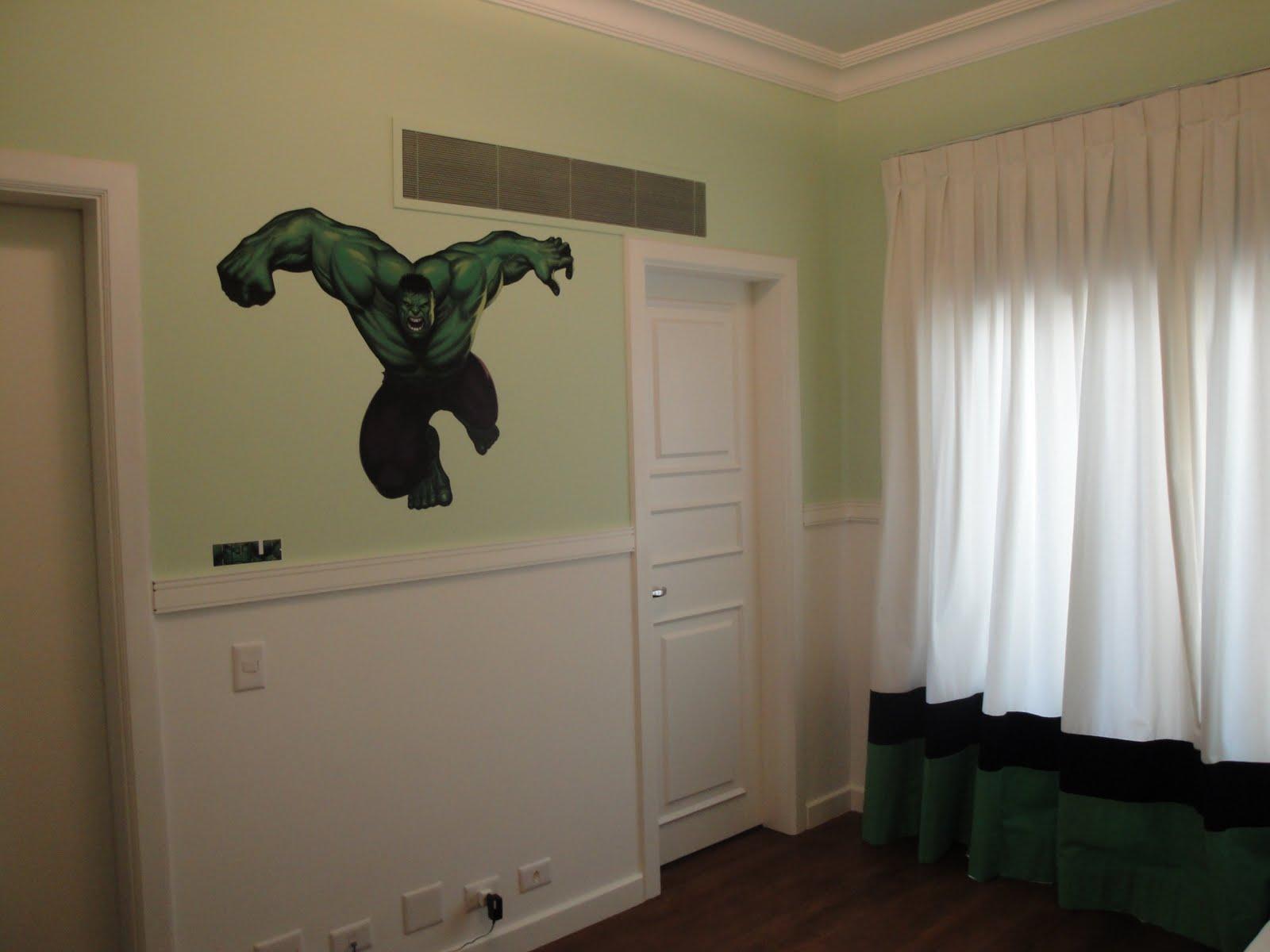 3K Arquitetura e Interiores Quarto Hulk ~ Papel De Parede Para Quarto Do Hulk