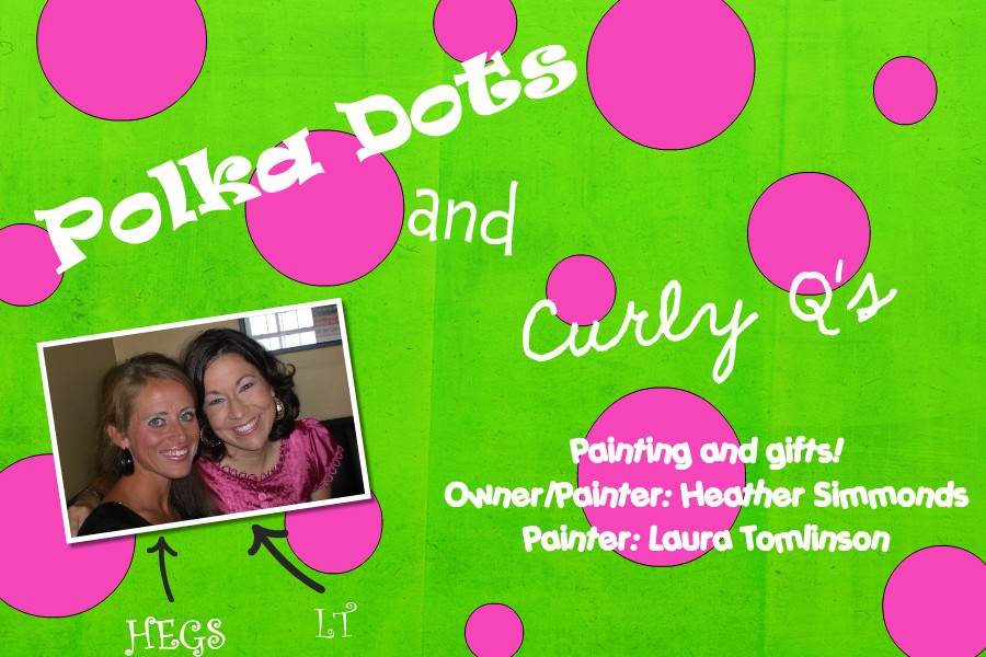 Polka Dots & Curly Q's