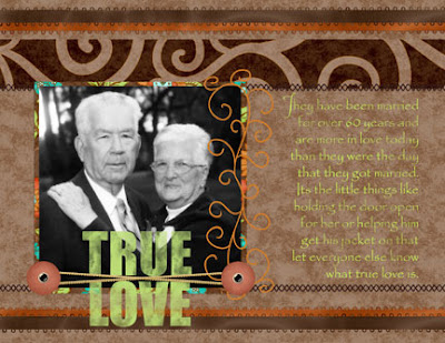 Layout created by Amy Duquette for Everyday Digital Scrapbooking