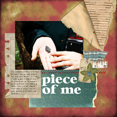 Layout created by Cammy Plummer for Everyday Digital Scrapbooking