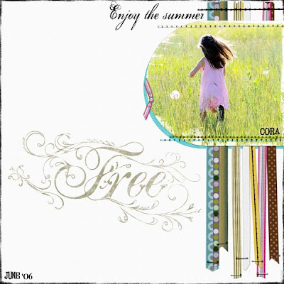Layout by Angela Spangler for Everyday Digital Scrapbooking