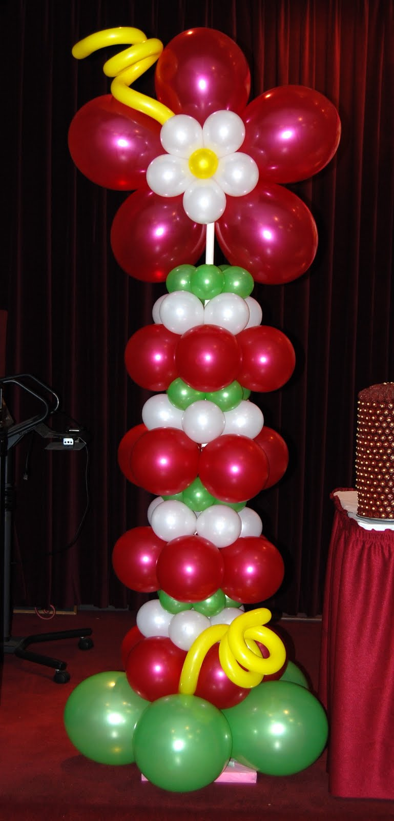 Most recent balloon decor packages balloon decor for Balloon column decoration