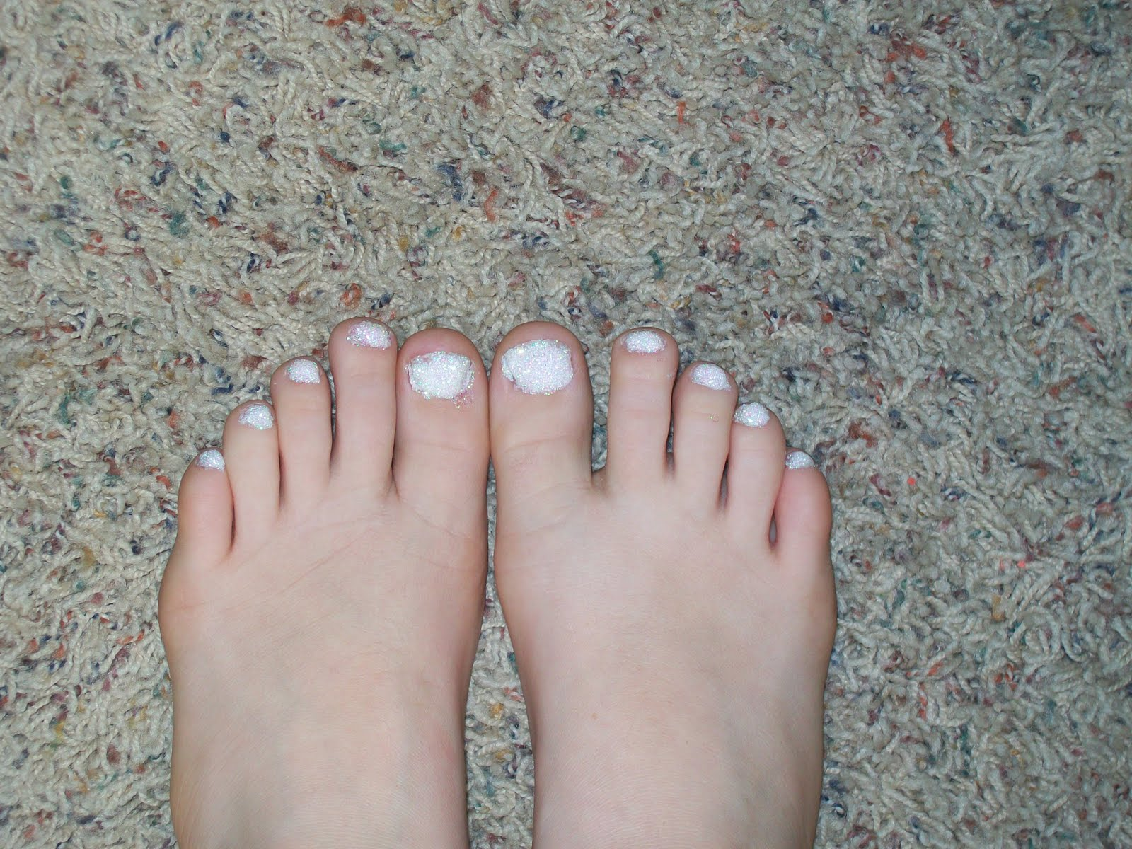 Glitter Toes Utah Glitter Toes One of Haer
