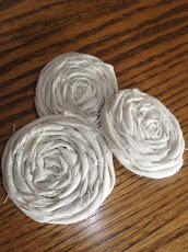 Tattered Muslin Rosette Tutorial