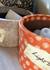 Paper Mache Storage Containers