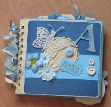 Minialbum azzurro