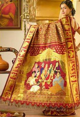 Chennai Silks silk sari