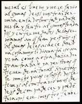 Szent Terézia kézírása