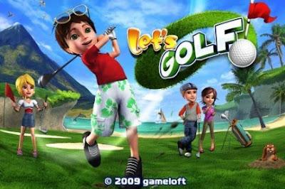 Let's Golf PSP