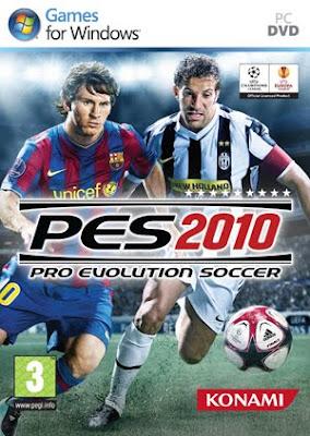 copertina pes 2010 pc