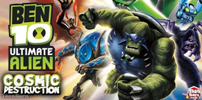Ben 10: Ultimate Alien: Cosmic Destruction PSP