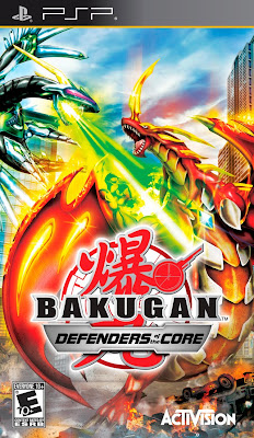 Bakugan: Defenders of the Core PSP