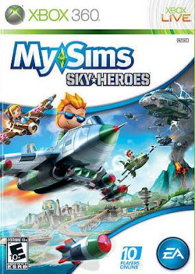 MySims Sky Heroes Xbox 360