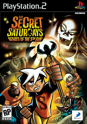 The Secret Saturdays: Beasts of the 5th Sun PS2