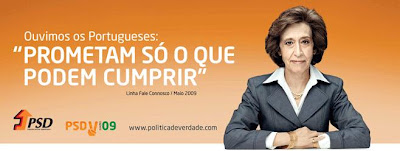 Cartaz do PSD
