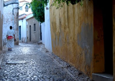 Travessa da Cató, Silves, Agosto 2009, © António Baeta Oliveira