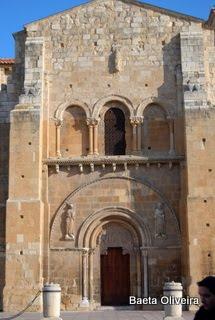 Fachada românica de San Isidoro, de León