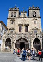 Fachada da Sé de Braga