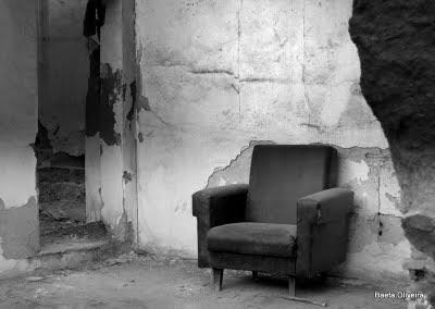 Casa destruída, na Travessa da Cató, em Silves