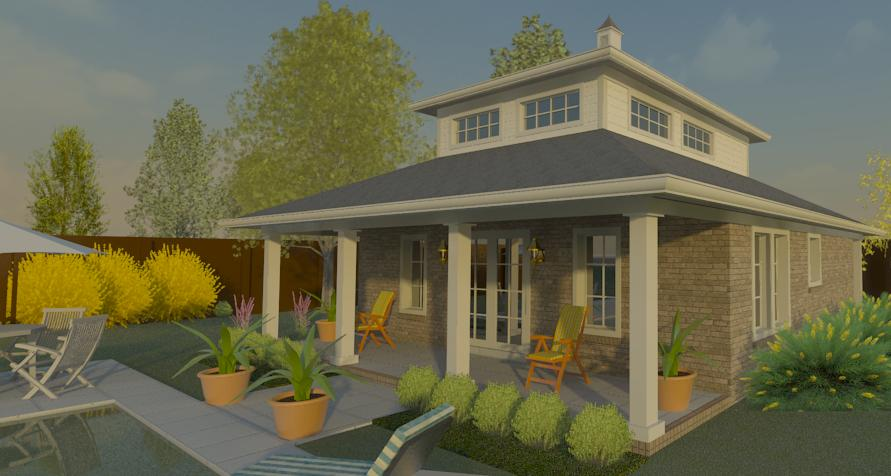 Sullivan Home Plans A Pool House