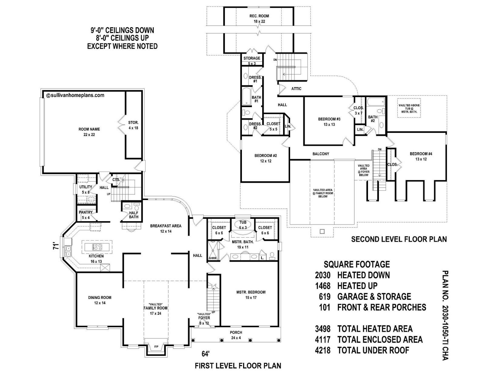 Sullivan Home Plans Spotlight Plan